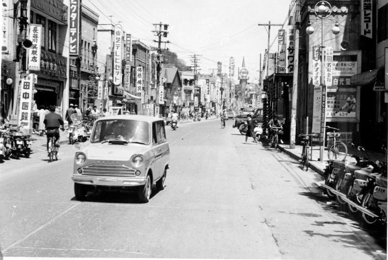 室蘭市/ 昭和30年代 の大町 ...