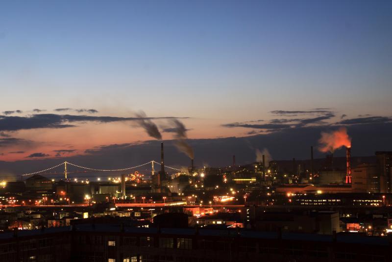 室蘭市/工場夜景